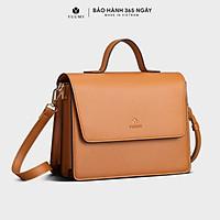 Túi đeo chéo nữ thời trang YUUMY YN96, 8 ngăn, vừa A5, ví, điện thoại, phù hợp đi chơi, đi làm, đi tiệc, da tổng hợp cao cấp, không bong tróc, không thấm nước (Dài 25cm x Rộng 9.5cm x Cao 19.5cm)