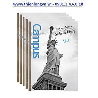 Lốc 5 quyển vở kẻ ngang Landscape 80 trang B5 Campus NB-BLAS80 Mỹ