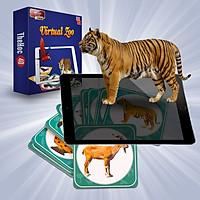Bộ Thẻ Học 4D Hình Động Vật Cho Bé (Gồm 31 Thẻ) Phát Huy Khả Năng Tưởng Tượng