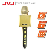 Micro karaoke YS92 JVJ bluetooth Không dây kèm loa 3 in 1-Kết nối với các thiết bị có kết nối bluetooth, Nâng giọng tốt - Hàng chính hãng