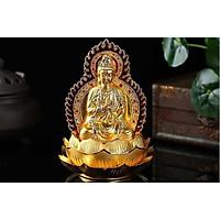 Tượng Phật bà quan âm hai mặt nước hoa ô tô