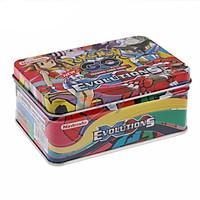 Bộ 42 thẻ bài TCG kèm hộp đựng bằng kim loại tiện lợi cho bé ( Giao mẫu ngẫu nhiên )