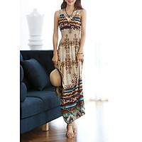 Đầm Maxi Thun Lụa Mềm Mại (Free Size)