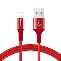 Cáp sạc đầu bọc kim loại cho iPhone Baseus Shining Cable with Jet metal - Hàng chính hãng