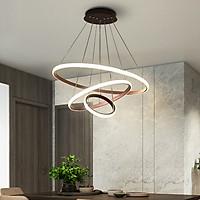 Đèn chùm thả trần thiết kế hiện đại trang trí phòng khách