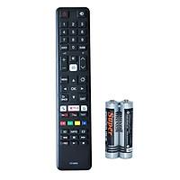 Remote Điều Khiển Dành Cho Smart TV, Internet TV Toshiba CT-8069 Grade A+ (Kèm Pin AAA Maxell)