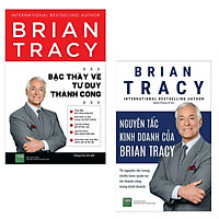 Combo Tuyệt Chiêu Kinh Doanh Và Tư Duy Thành Công: Bậc Thầy Về Tư Duy Thành Công + Nguyên Tắc Kinh Doanh Của Brian Tracy (Bộ 2 Cuốn Sách Kinh Tế Bán Chạy Nhất Của Brian Trancy - Tặng kèm Bookmark Green Life)