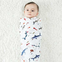 Khăn cuốn - chăn nhẹ đa năng sợi tre 70% cho bé từ sơ sinh