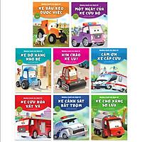 Sách - Combo Những Chiếc Xe Hiệp Sĩ (8 cuốn) - NXB Kim Đồng