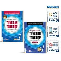 Combo Tiếng Hàn Tổng Hợp Sơ Cấp 1 Dành Cho Người Việt Nam Bản In Màu - Học Kèm App