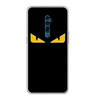 Ốp lưng Oppo Reno 10X Zoom Edition (6.6inch) - 0160 MONSTER02 - Silicone dẻo - Hàng Chính Hãng