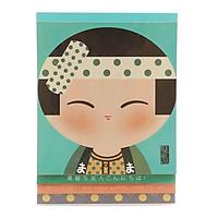 Sổ Lò Xo Notes Of Tomodachi - Mẫu 5 - Màu Xanh Mint