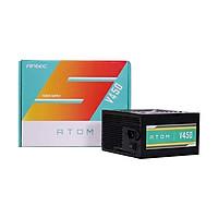Nguồn máy tính Công suất thực 450W Antec ATOM V450 Chuyên dùng lắp máy bộ game nét, đồ họa và văn phòng sử dụng VGA GTX1060, GTX 1650, GTX1660, RTX2060, và Rx580.. - Hàng chính hãng