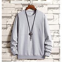 Áo Sweater Nỉ Bông Trơn Đủ Màu ( unisex nam nữ đều mặc được)