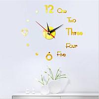 Đồng hồ dán tường MASTER trang trí độc đáo