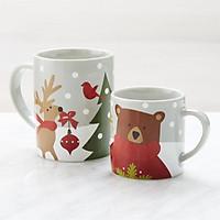 Cốc sứ cao cấp in hình giáng sinh đẹp  mắt - Cốc quà tặng Noel
