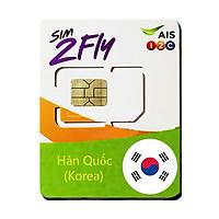 SIM 4G HÀN QUỐC gói 4GB Tốc Độ Cao