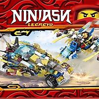 Đồ chơi xếp hình Lego ninjago xe full 8 bộ