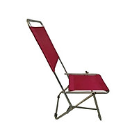 Ghế xếp inox loại cao Thanh Long GXI-L02 44 x 42 x 86 cm (Đỏ đô)