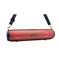 Loa bluetooth stereo KIMISO KM-203 TWS kết nối cùng lúc 2 loa - có đèn led và dây đeo (màu ngẫu nhiên) HÀNG NHẬP KHẨU