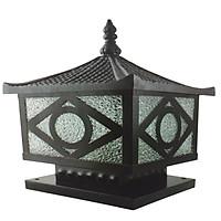 Đèn trụ cổng Nắp Nhôm đúc kích thước 250 HANBACH04Đ250