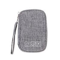 Túi đựng pin dự phòng, cáp sạc, phụ kiện công nghệ đi du lịch chống sốc chống thấm có quai cầm tay