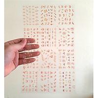 Set dán móng tay nails dán nghệ thuật nhiều mẫu