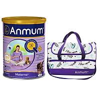 Sữa Bột Dành Cho Mẹ Bầu Anmum Materna Hương Chocolate 400g - Tặng Túi Dự Sinh