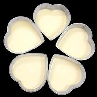 Bộ 50 khuôn bánh flan hình tim