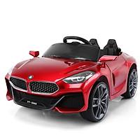 Ô tô xe điện trẻ em BMW YT 6688 tự lái và remote 2 chỗ 2 động cơ 6V4,5AH bảo hành 6 tháng (Đỏ-Xanh-Trắng)