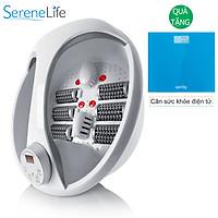 Bồn ngâm chân massagge USA đa năng Serenelife SLFTSP17 nhập khẩu - Tặng cân sức khoẻ điện tử Sanity