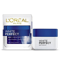 Kem Dưỡng Sáng Da L'Oréal White Perfect Cream 50 ml Đêm/Ngày PL809