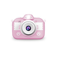 Kids Digital Video Camera Small Rechargeable Children's Selfie Camera with 1080P 18MP 3.0 Inch Screen 16GB Memory Card