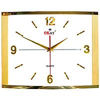 Đồng hồ treo tường thiết kế đẹp OKAY 68