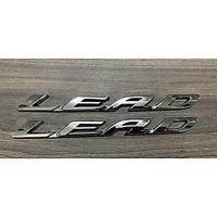 Bộ tem chữ nổi dành cho xe LEAD