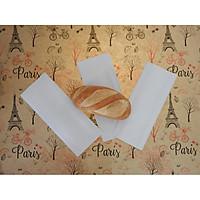 500 túi giấy trắng đựng bánh mì