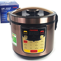 Nồi Cơm Điện Tách Đường 1.8L Inox 304 Povena PVN-SG1886 Điện Tử Nhiều Chức Năng Công Nghệ Tách Đường Hiện Đại-Hàng Chính Hãng
