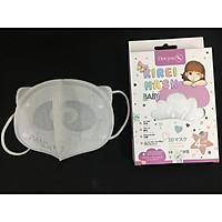 Khẩu trang y tế em bé - Gấu Panda - Doctor K - 10 cái/hộp