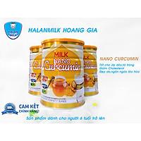 Sữa bột Nano Curcumin - Halan Milk - Sữa Ong Chúa, giảm cholesterol, tái tạo da, hỗ trợ dạ dày -  900gr