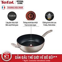 Chảo chiên chống dính đáy từ sâu lòng Tefal Sensations H9109014 28cm - Hàng chính hãng