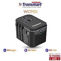 Củ sạc nhanh chuyển đổi đa năng Sạc nhanh QC 3.0, PD - Tronsmart WCP05  - Hàng chính hãng