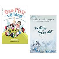 Combo 2 Cuốn Sách Hay Nhất Về Tôn Giáo - Tâm Linh: Đạo Phật Vỡ Lòng +  Tìm Bình Yên Trong Gia Đình (Tái Bản) - Tặng Kèm Bookmark Happy Life