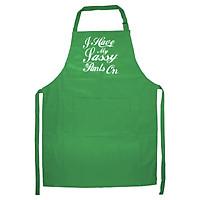 Tạp Dề Làm Bếp In Hình I Kiss Better Than I Cook , I'm A Great Cook T
