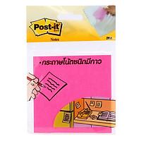 Giấy Ghi Chú Post-It 654-HB - Neon (3 x 3 Inch x 50 Tờ) - Giao Màu Ngẫu Nhiên