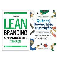 Combo Sách : Learn Branding - Xây Dựng Thương Hiệu Tinh Gọn + Quản Trị Thương Hiệu Trực Tuyến