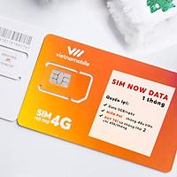 Sim Now Data 1 tháng - 5GB/ngày Miễn phí tháng đầu tiên - Chính hãng Vietnamobile