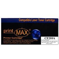 Hộp mực in Laser màu Đen PrintMAX dành cho máy HP CF210A - Canon 331BK – Hàng Chính Hãng