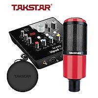 Combo thu âm, livestream souncard icon upod nano, mic PC-320, tai nghe TS 2260 kèm đầy đủ phụ kiện - hàng chính hãng