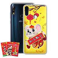 Ốp lưng dẻo cho điện thoại Zenfone Max Pro M2 - 01219 7966 HPNY2020 18 - Tặng bao lì xì Cung Hỷ Cung Hỷ - Hàng Chính Hãng