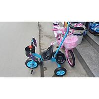 Xe đẩy 3 bánh có bàn đạp (có để chân, cần đẩy)